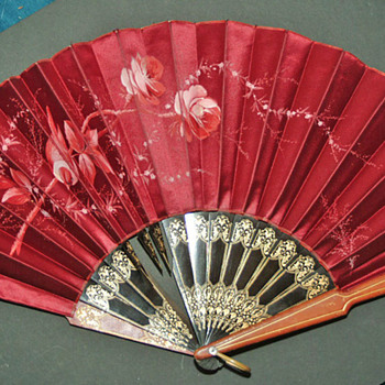 Fans from Hong Kong 1860s - Accessories