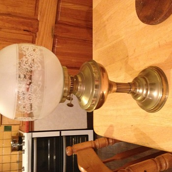 Brass Table Oil Worth - Lamps