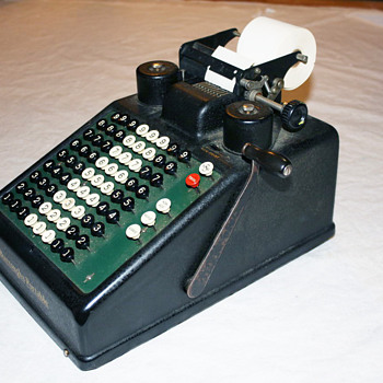 Burroughs Portable Comptometor - Office