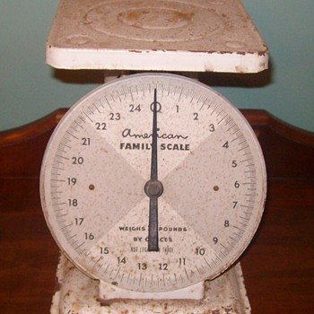 American Family Scale 25LB - Tools and Hardware