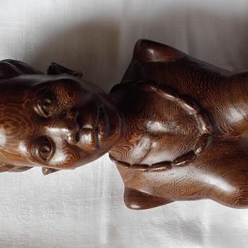 Buste d'une africaine