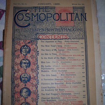 Vol. VI No. 3 of The Cosmopolitan - January, 1889 - Advertising