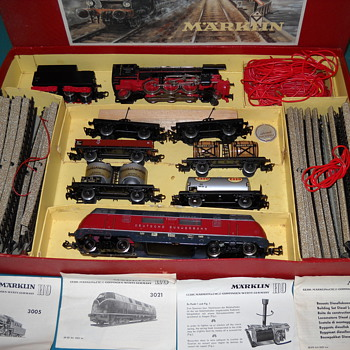 Marklin Trains and tracks - Model Trains