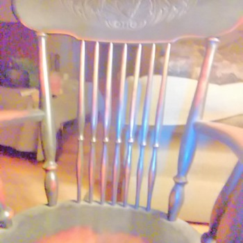 Rocking chair that goes back 4 generations  - Furniture