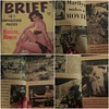 Brief Magazine featuring an article on Marilyn Monroe, during the filming of River Of No Return(1954)