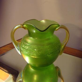 Art Nouveau Loetz Ausfuehrung 44 - 1907 Vase Bowl
