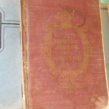 1943 SPIRITUAL ALMANAC FOR SERVICE MEN - Books