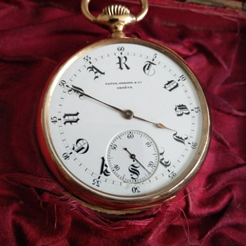 Patek Phillipe 18k Pocket Watch - Pocket Watches