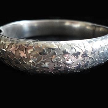Georg Adam Scheid Austrian Silver Bracelet c. 1900