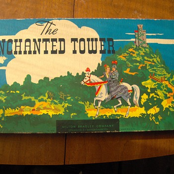 Very Early Milton Bradley Game - Enchanted Tower - Games