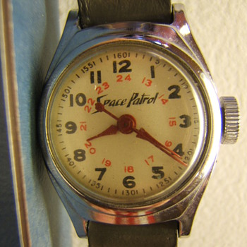 1951 Buzz Corey Space Patrol Watch