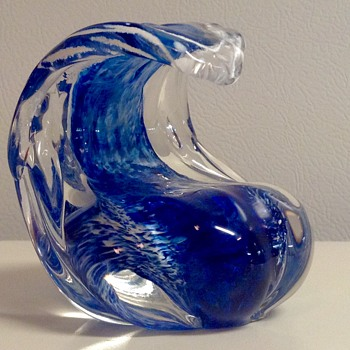Anchor Bend Wave Paper Weight