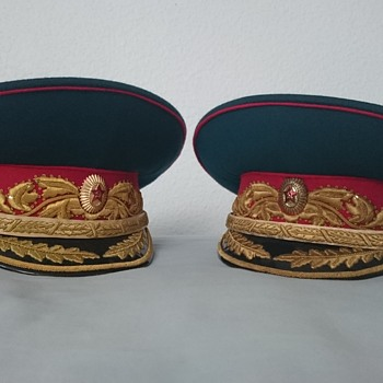 Soviet Marshal of the Soviet Union Visor Peaked Cap Hat