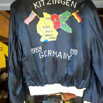 Kitzingen, Germany 1959 - 1960 souvenir coat ? - Mens Clothing