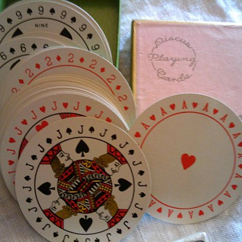 VINTAGE PLAYING CARDS - Cards