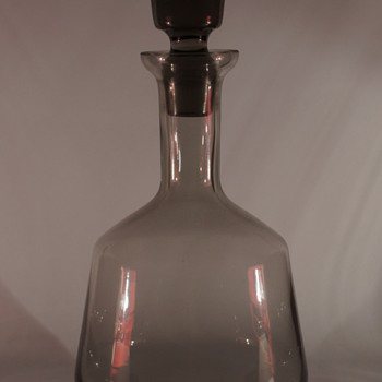 Bohemian Decanter - Art Glass