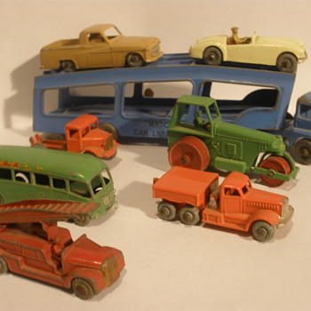 My collection of early matchbox cars.
