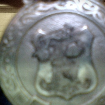 Irish Silver Medal, By J.M.Co,Can Anyone Tell Me What The Medal Was For, Sports Maybe