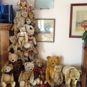 My Chris-bear tree! - Dolls