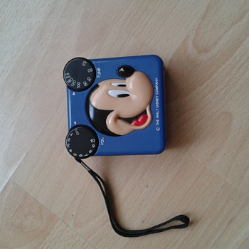 MICKEY MOUSE AM RADIO 1980's