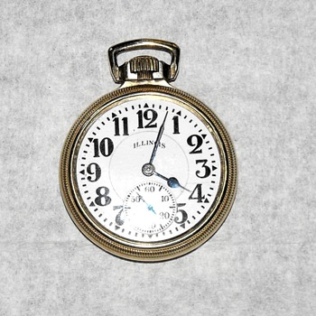 Antique Illinois Pocket Watch - Pocket Watches