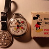 Bradley Mickey Mouse Pocket Watch