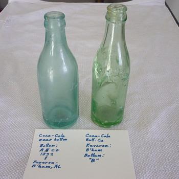Mo Coke bottles - Bottles