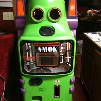 A-mok Venidng Machine - Games