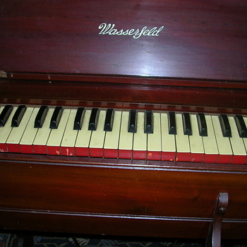 old childs wasserfeld pump organ - Music