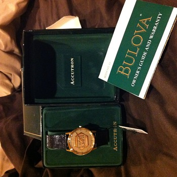 Bulova watch