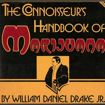"1971 - ""The Connoisseur's Handbook of Marijuana"" - Books"