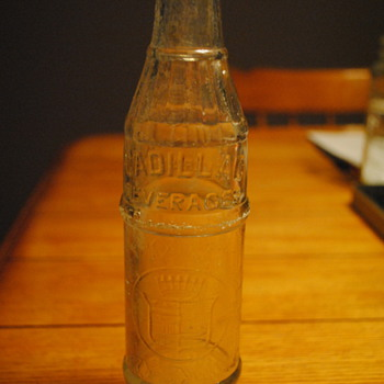 Cadillac Beverages Ginger Ale Bottle-Detroit, MI