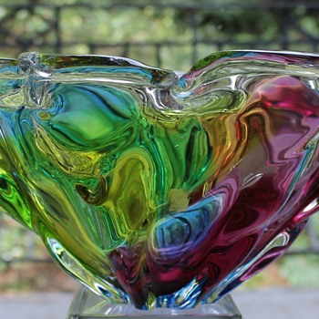My beautiful BIG bowl - Art Glass