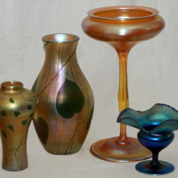 Tiffany Favrile; the American original - Art Glass