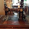 Greist treadle sewing machine recent Yard sale find!