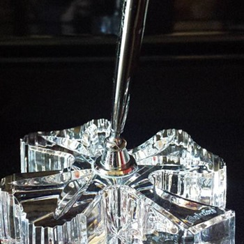 Waterford Crystal Shamrock Pen Holder