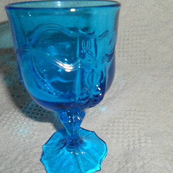 Blue Water / Tea Glass  - Glassware