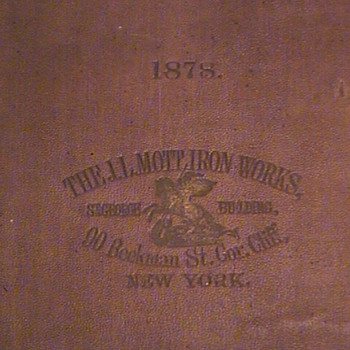 """MOTT IRON WORKS"" - Books"