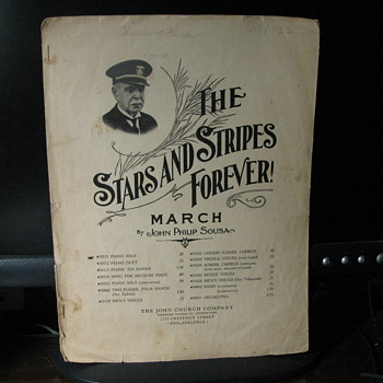 The stars and Stripes Forever  copyright; 1897 - Music