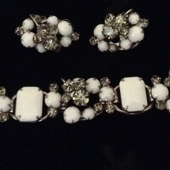 Juliana Demi Parure? - Costume Jewelry