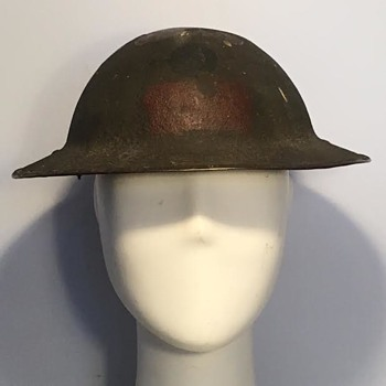 WWI Canadian 13th Battalion (Royal Highlanders of Canada) Helmet