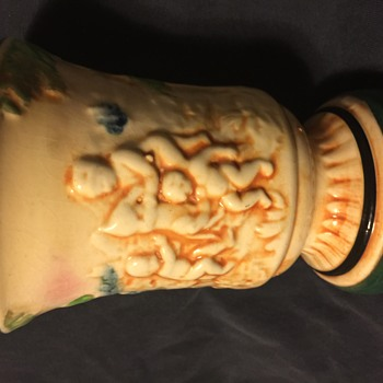 Old urn vase
