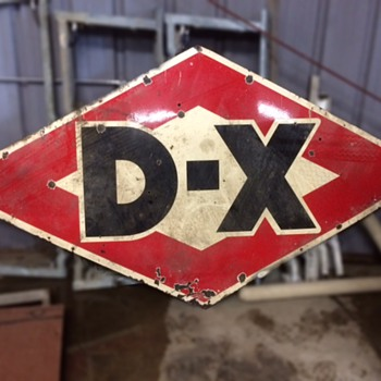 "D-X Sign 60"" x 120"" - Signs"