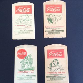 My coca cola dry servers