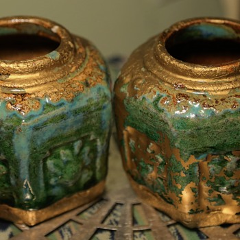 Two Little Ginger Jars - really beautiful! - Asian