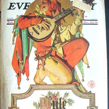A LEYENDECKER XMAS IV - Advertising