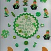 St. Patrick's Day card with buttons
