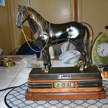 Abbotsware Horse Clock 1955-65
