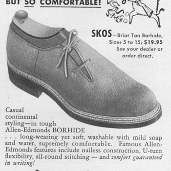 1953 - Allen Edmonds Shoes Advertisement - Advertising