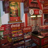 Double Sided Coca-Cola Grocery Isle Stand & Improved Coke Truck